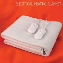 COUVERTURE CHAUFFANTE LIT DOUBLE ELECTRICAL HEATING BLANKET 160 X 140 CM